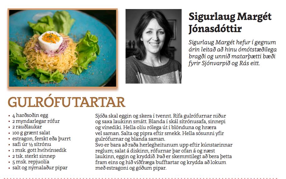 Gulrófutartar - Sigurlaug Margrét Jónsdóttir
