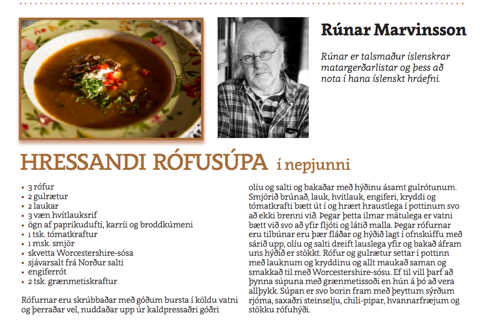 Rófusúpa - Rúnar Marvinsson